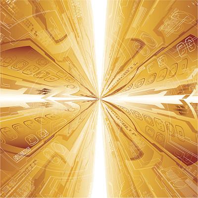 技术,抽象,隧道,未来,加号,状态描述,形状,无人,绘画插图,符号