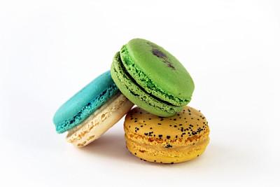 绿色,黄色,特写,蓝色,白巧克力,西番莲,明亮,甜点心,白色,彩色图片