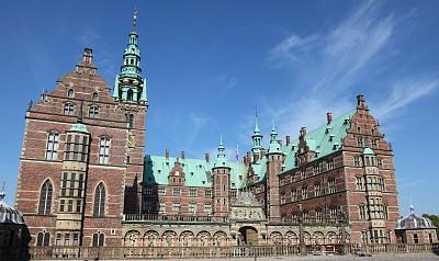 腓特烈城堡,宫殿,菲德烈堡宫,西兰岛,水平画幅,无人,文艺复兴,国际著名景点,著名景点,丹麦