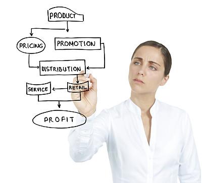 女商人,玻璃,商务策略,领导能力,水平画幅,绘画插图,科学,商务会议,白人,图像