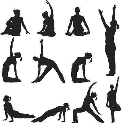 瑜伽,瑜珈教师,美,禅宗,女人,绘画插图,健康,普拉提 ,活力
