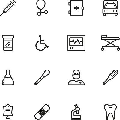 健康保健,计算机图标,创可贴,静脉滴注,急救包,显微镜,美,温度计,绘画插图,组物体