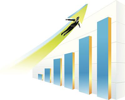 图表,领导能力,绘画插图,箭头符号,方向,高处,三维图形,矢量,商务,迅速