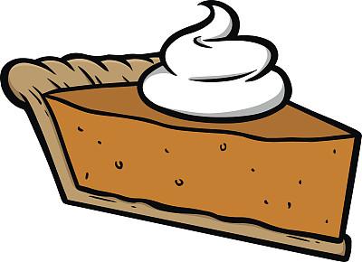 南瓜派,生奶油,在上面,数码图形,饮食,甜馅饼,秋天,无人,绘画插图