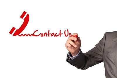 联系我们,白板,概念,办公室,客户服务代表,水平画幅,电话机,符号,手