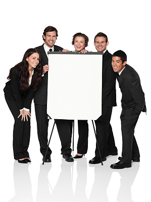 白板,手放膝盖上,电子白板,讲座板,三脚架,垂直画幅,正面视角,留白,套装,男商人