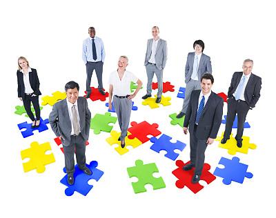商务,团队,水平画幅,人群,套装,白人,男商人,经理,男性,齿轮