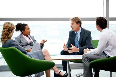 会议,美,留白,脑风暴,水平画幅,美人,人群,套装,商务会议,白人
