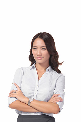 专业人员,女商人,现代,垂直画幅,正面视角,留白,领导能力,图像,经理,仅成年人