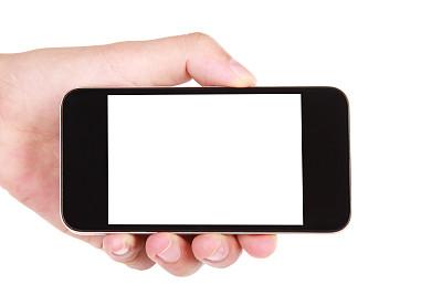 智能手机,手牵手,白色背景,黑屏,留白,透过窗户往外看,电子商务,想法,动机,技术