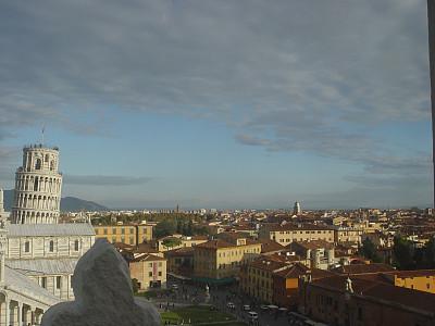 比萨,城市,比萨斜塔,斜靠,水平画幅,无人,托斯卡纳区,文艺复兴,国际著名景点,著名景点