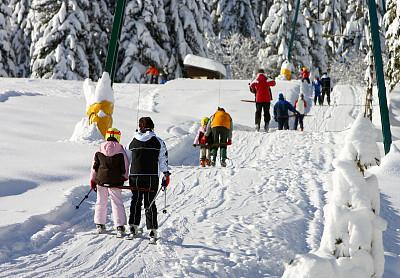 冬天,乐趣,滑雪缆车,休闲活动,水平画幅,雪,无人,时间,运动,阿尔卑斯山脉