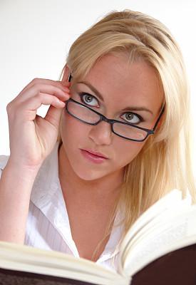 操作指南,手册,垂直画幅,办公室,美,美人,眼镜,白领,青年人,过度劳累