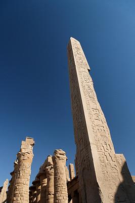 哈西帕苏神殿,方尖石塔,莱克斯庙,鲁克索神殿,卡尔纳克神殿,尼罗河,埃及卢克索,底比斯,象形文字,法老