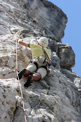 逆境,海上航道,垂直画幅,山,墙,风险,石材,男性,自由,石头