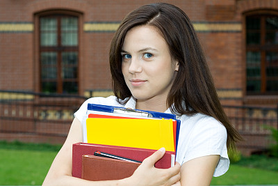 书,青年女人,练习本,螺旋记事本,青少年,四肢,休闲活动,智慧,腿,男商人