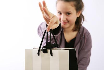 礼物,个人随身用品,青少年,留白,褐色,水平画幅,特写,容器,缎带,儿童