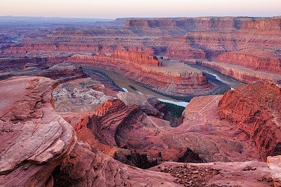 死马点州立公园,早晨,地形,水,石头,犹他,高处,动机,黎明,著名景点