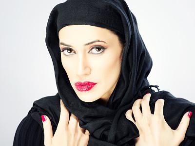青年女人,自然美,黎巴嫩人,伊朗人,阿拉伯女袍,阿拉伯半岛,巴林,科威特,也门,卡塔尔