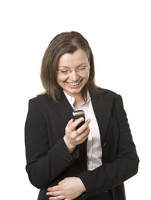 青年人,女人,垂直画幅,美,电话机,美人,套装,仅成年人,眼镜