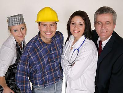 职业,水平画幅,男商人,经理,白领,建筑业,专业人员,烘焙师,成年的,商务