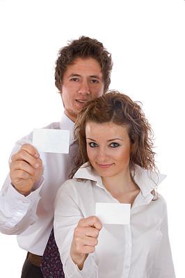 两个人,空白的,商务人士,卡片,垂直画幅,留白,少量人群,男商人,经理,仅成年人