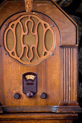 新的,全部,传媒,1930年-1939年,垂直画幅,古董,真空管,木制,噪声,古典式