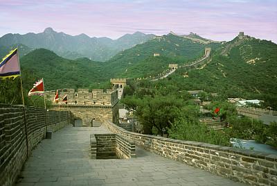 北京,全景,水平画幅,墙,无人,走廊,国际著名景点,著名景点,建筑特色,旅游目的地