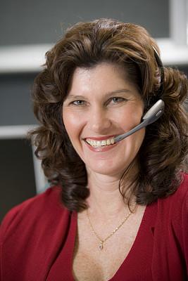 呼叫中心,使用电脑,耳麦,操作员,公共设施,垂直画幅,客户服务代表,水,女人,能源