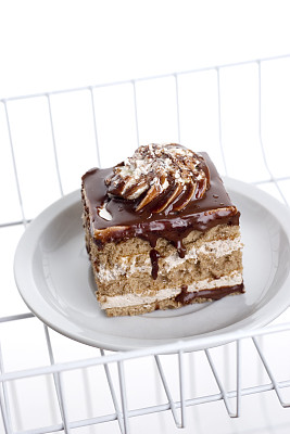 蛋糕,冰箱,切片食物,垂直画幅,饮食,寒冷,架子,巧克力,背景分离,小吃