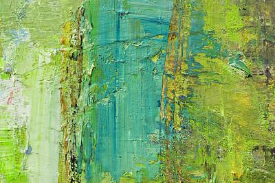 绿色,涂料,背景,抽象,行为绘画,彩块,丹配拉画法,留白