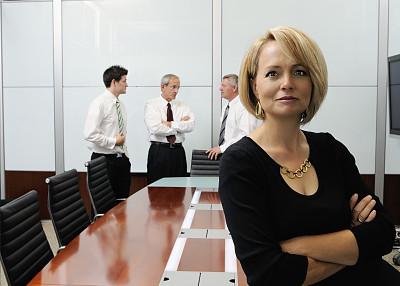 信心,女人,办公室,水平画幅,人群,商务关系,男商人,男性,仅成年人,现代