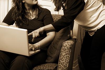 文书工作,女孩,留白,电子邮件,电子商务,文档,仅成年人,现代,知识,青年人