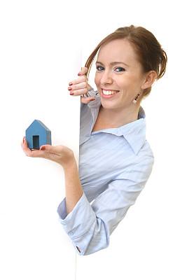 房地产,垂直画幅,美,留白,美人,仅成年人,青年人,仅一个青年女人,成年的,商务