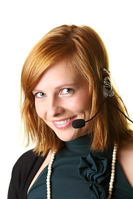 总机人员,垂直画幅,办公室,美,麦克风,耳麦,蓝牙,电话机,it技术支持,专业人员