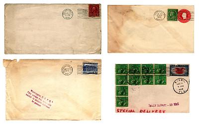 美国,邮件,30年代风格,1937,1933,1930,1938,1930年-1939年,奶油色,办公室