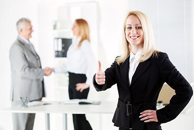 女商人,套装,领导能力,少量人群,男商人,图像,经理,男性,仅成年人,现代