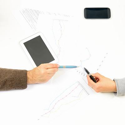 商务,智能手机,人,平板电脑,英文字母w,税表,留白,高视角,银行帐户,税