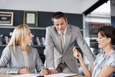 商务,让,羊毛帽,紧迫,办公室,美,水平画幅,工作场所,智慧,美人