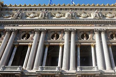 巴黎歌剧院,歌剧院,作曲家,歌剧,水平画幅,建筑,无人,阳台,特写,华丽的