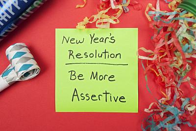 固执己见,新年前夕,玩具吹卷,任务清单,自我完善,选择对焦,领导能力,水平画幅,无人,新年