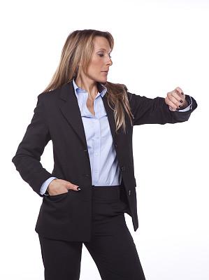 紧迫,垂直画幅,办公室,美,30到39岁,美人,情绪压力,时间,套装,白人