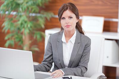 办公室,女商人,图像,经理,仅成年人,现代,专业人员,信心,技术,计算机