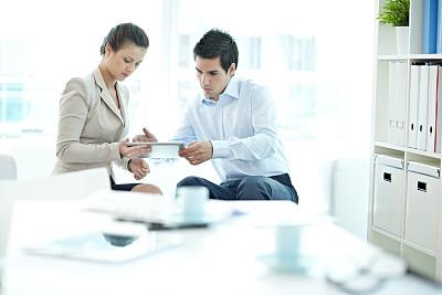 做计划,办公室,水平画幅,会议,商务会议,白人,男商人,经理,男性,仅成年人