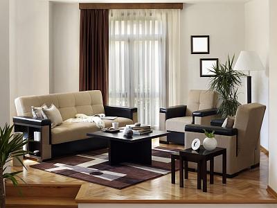 起居室,水平画幅,无人,地毯,家具,咖啡,现代,沙发,彩色图片,角落