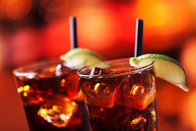 长岛,冰茶,饮食,水平画幅,无人,散焦,全身像,玻璃杯,鸡尾酒,含酒精饮料