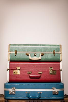 衣柜,木制,手提箱,三个物体,留白,1970年-1979年,垂直画幅,古董,无人,古老的