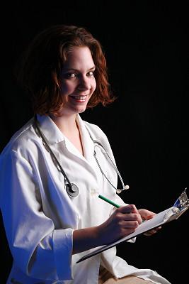 医科学生,垂直画幅,青少年,夜晚,制服,白人,图像,青年人,人的脸部