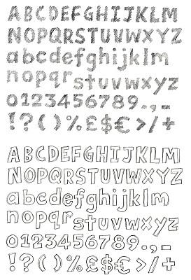 鉛筆畫,字母,鉛筆,信函,字體,草圖,英文字母a,垂直畫幅,繪畫插圖,字母表次序