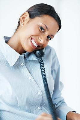 女商人,垂直画幅,美,女人,电话机,快乐,美人,人,肖像